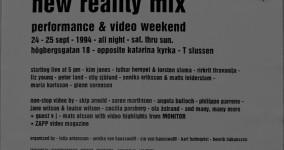 THOMAS OLSSON: NEW REALITY MIX 1994